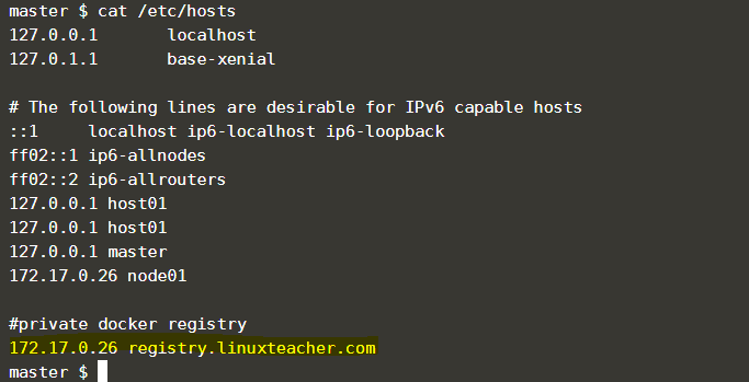 private Docker registry without https