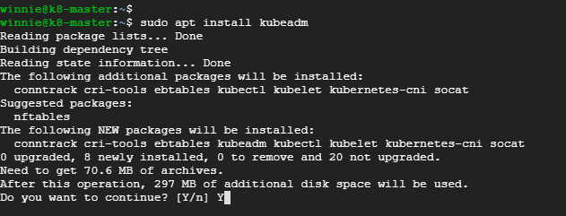 Install-kubeadm-on-ubuntu