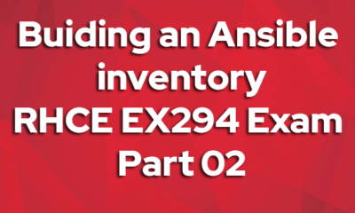 Buiding an Ansible inventory rhce ex294 exam questions