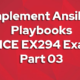 Implement Ansible Playbooks RHCE EX294 Exam dumps