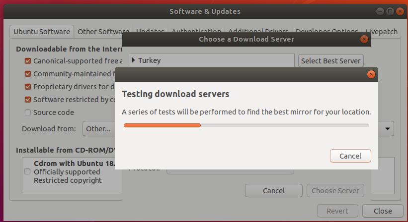 Find Best Ubuntu APT Repository