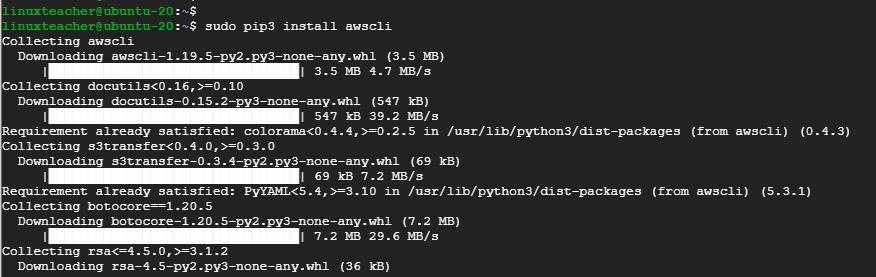 use-pip-to-install-awscli